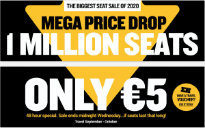sale on air tickets