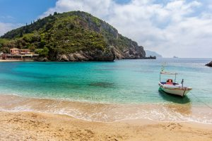Corfu Beach Boat