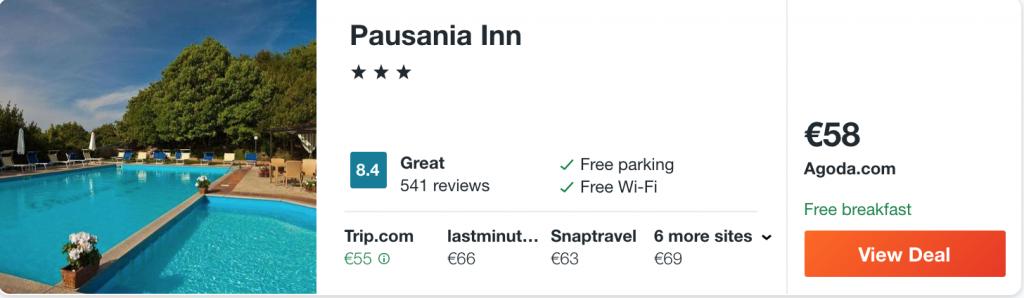 cheap hotels in Sardinia