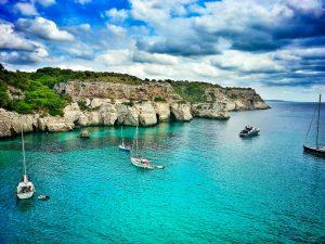 menorca sea boats