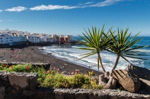 Spain Tenerife Puerte de la Cruz