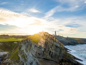Spain Santander cliff